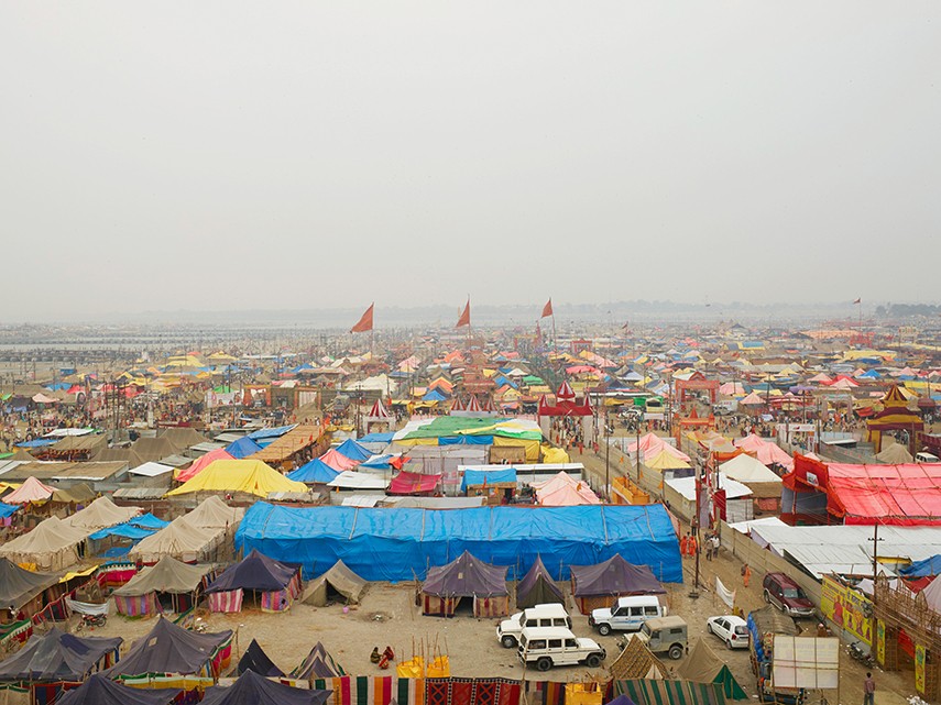 Kumbh Nagar, Akhara Encampments, sector 4 (temporay)