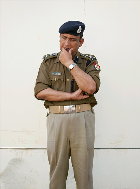 Head of Police - R.K.S. Rathore S.S.P.